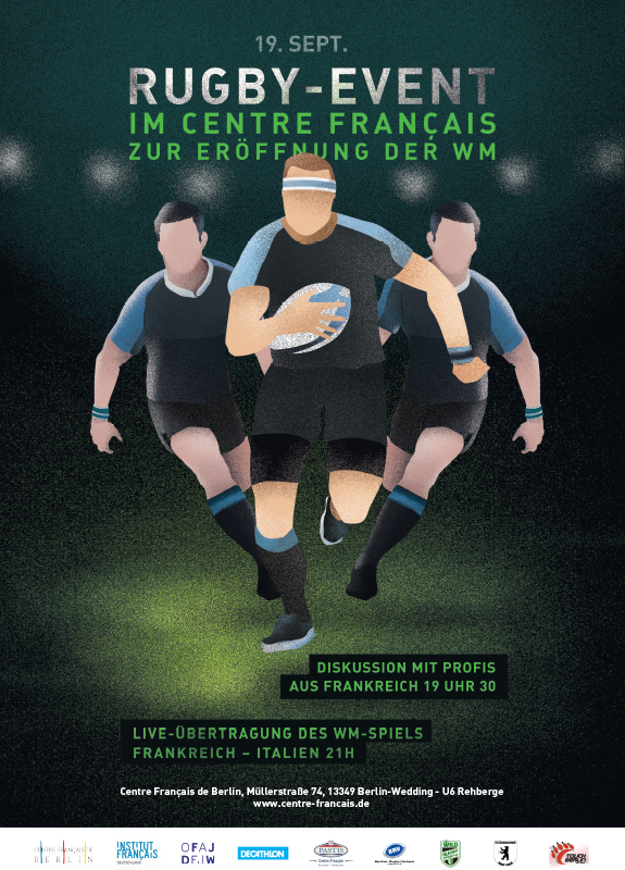 Plakat Rugby-Event 19.9.
