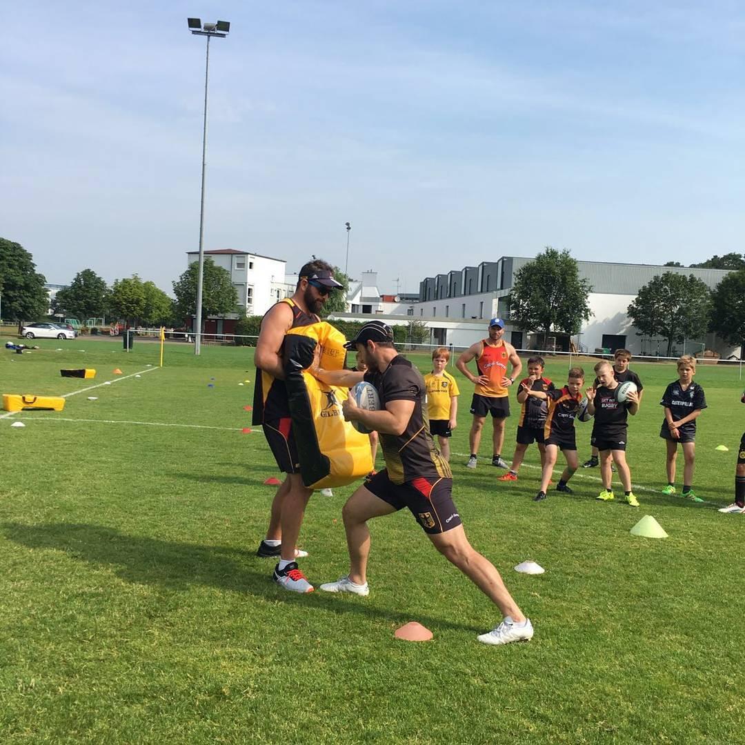 Unsere WRA Trainer untersttzten gestern das Sommercamp des RK Heusenstamm!hellip